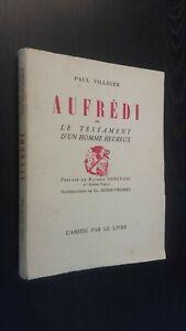 Paul Villeger Aufredi Demuestra Suire-Thomas 1954 Pin Buen Estado