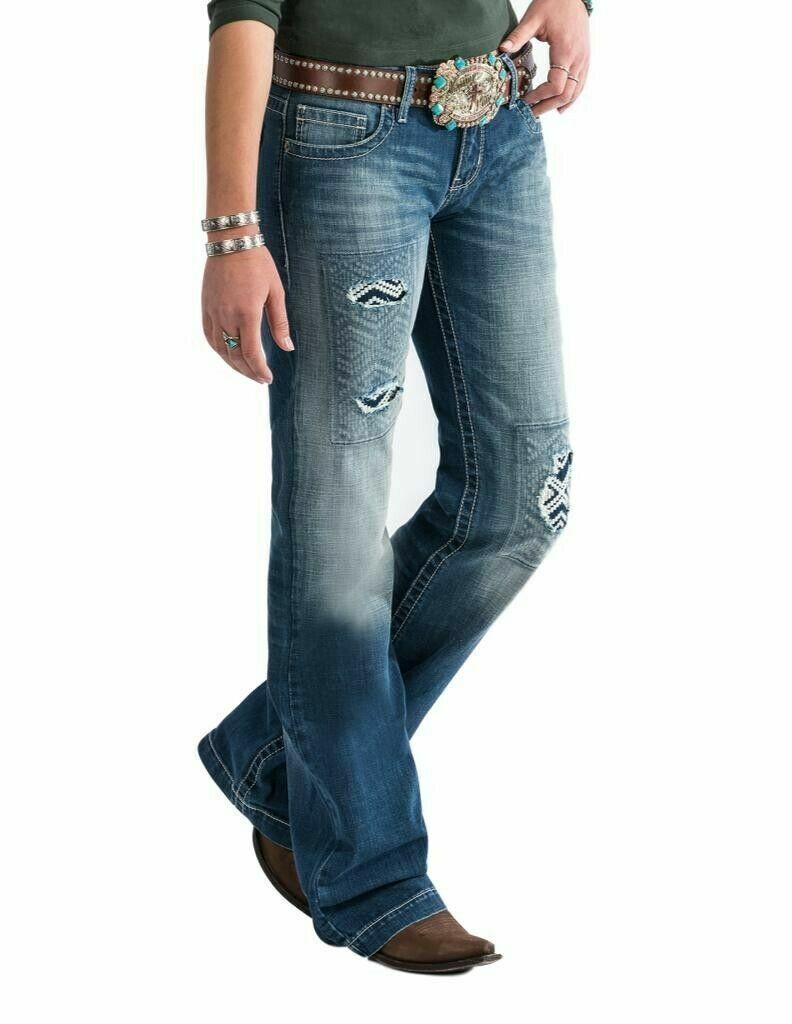 Cruel Girl Western Jeans Femme jayley Pantalon Délavé CB11954001 neuf avec étiquettes
