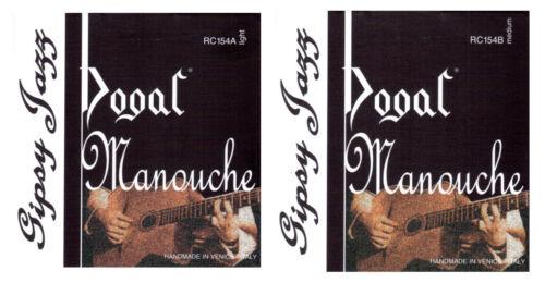 light oder medium Dogal Manouche Saiten für Westerngitarre RC154