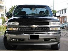 1999-2002 Chevy Silverado/2000-2006 Tahoe Black Billet Grille-Upper 2Pcs