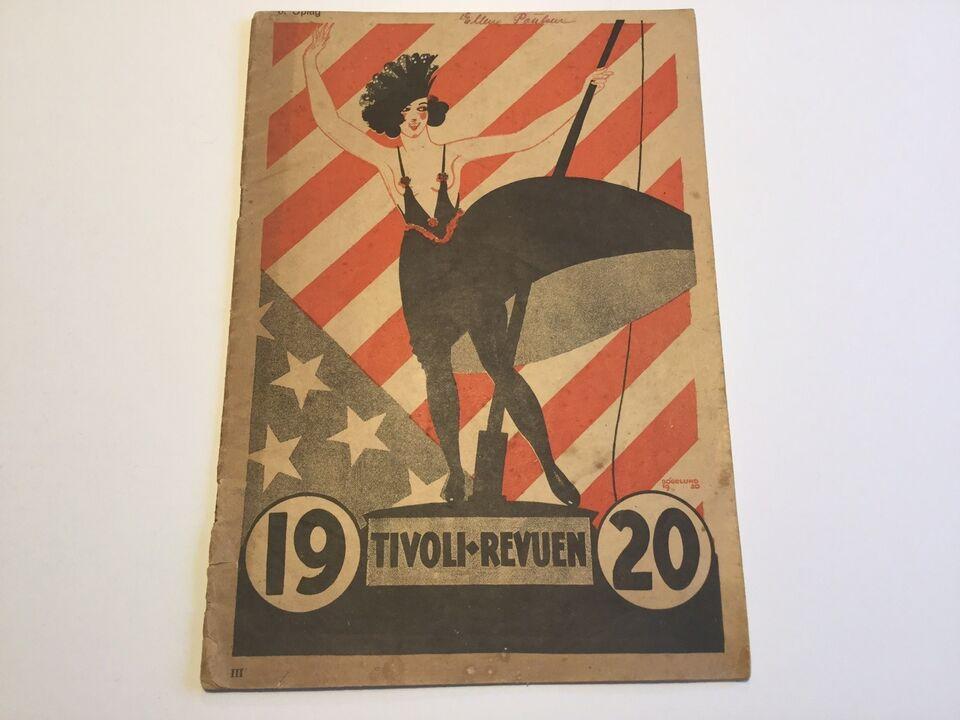 Tivoli Revuen 1920, Axel Andreasen og Ludvig Brandstrup,