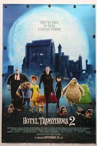 Hotel Transylvania 2 2015 Double Sided Original Movie Poster 27 X 40 Ebay