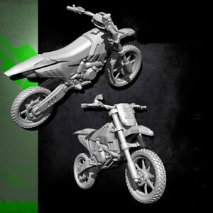 1-35-Resin-125-Cross-country-Motorcycle-unpainted-unassembled-BL754