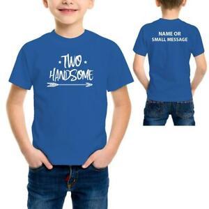 2nd Birthday Funny Toddler Kids boys PrintedT-Shirt Tee Top