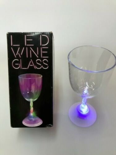 RRP£575.28 Job Lot of 72 Flashing LED Party Wine Glass Fun Drinking WHOLESALE