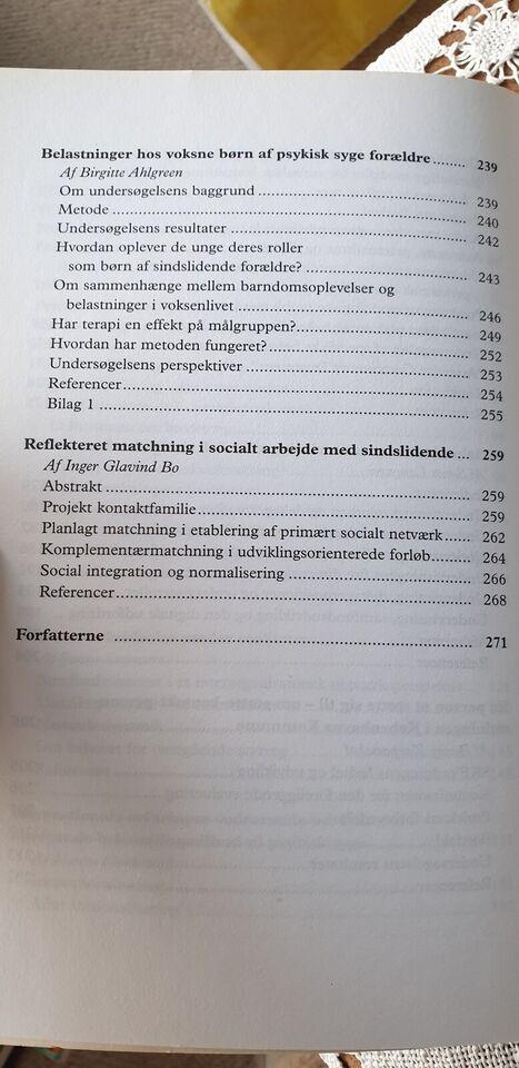 SOCIALPSYKIATRIENS KOMPLEKSITET, KJELD HØGSBRO Red.