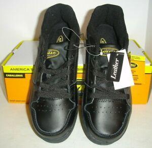 Safetrax BRYANT Black Work Shoe MEN 7