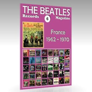 The-Beatles-Records-Magazine-No-6-France-1962-1970-Full-Color-Guide