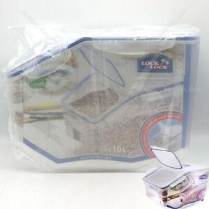 Dry Food Grain Cereals storage container Dispenser HPL510 10kg 12L LOCK/&LOCK