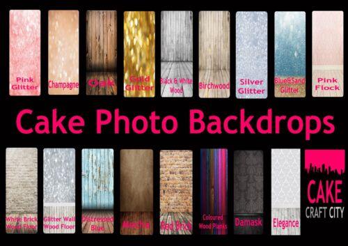 Cake Decorating 1x1.25m 3x4ft Studio Backdrop Vinyl Photography Photo Background