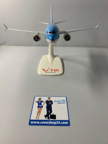 TUIfly Boeing 737 MAX 8 //// 1:200 Incl piede di supporto NUOVO OVP D-AMAX