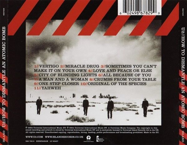 U2: How To Dismantle An Atomic Bomb, rock