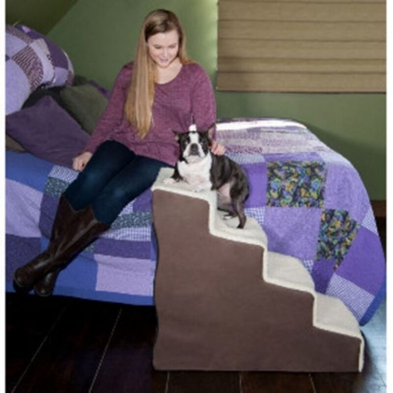 EASY STEP IV DELUXE SOFT PET STAIRS BY PET GEAR*FREE SHIPPING IN THE U.S.*