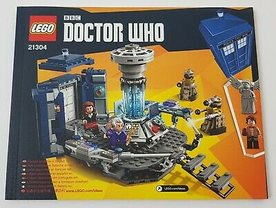 DOCTOR WHO INSTRUCTION MANUAL /& EMPTY BOX ONLY ~~LEGO IDEAS 21304