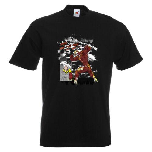 Saitama TITAN Homme T-shirt Imprimé Combat Anime Funny cartoon