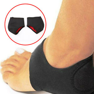 2x-Foot-Heel-Ankle-Wrap-Pads-Cushion-Plantar-Fasciitis-Pain-Relief-Arch-Support
