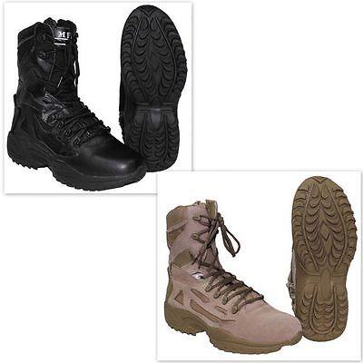Simbolo Del Marchio Mfh Stivali Anfibi Scarponi Uomo Donna Militare Tattici Boots Tactical 18853