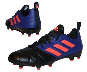 adidas Ace 17.3 FG Kinder Fußballschuhe Nocken blau weiß Fußballschuhe