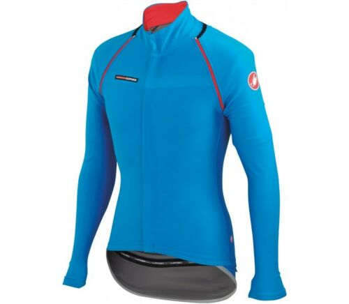 Castelli CONVERTIBLE CYCLING JACKET Wind Protection, Waterproof BLUE XXL Or 3XL