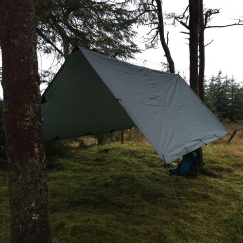 Lomo 3mx3m Tarp Tarpaulin Bivi Basha Shelter Wild Camping Bushcraft