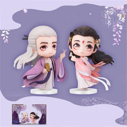 Sansheng Sanshi Three Lives Three Worlds Dong Hua Fengjiu Figure Nendoroid 2PC