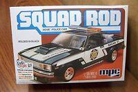 Mpc Squad Rod Nova Police Car 1/25 Scale Model Kit (build Stock Or Custom)
