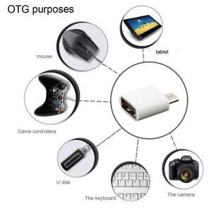 20x-Micro-USB-Macho-a-Hembra-Adaptador-Convertidor-De-Usb-3-0-OTG-conector-para-Android