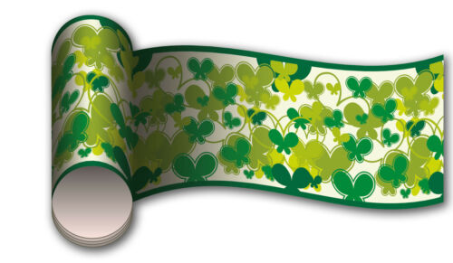 Bordüre Schmetterlinge Grün Wandborde Borde