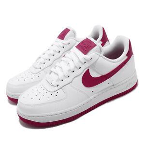Nike Womens Air Force 1 07 Patent WhiteOrange AH0287 101