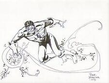 Green Lantern Kyle Raynor Commission - 2009 art by Steve Leialoha