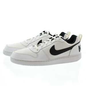 Nike 838937 Mens Court Borough Low Top Leather Running Shoes ... 4bdcefa5d