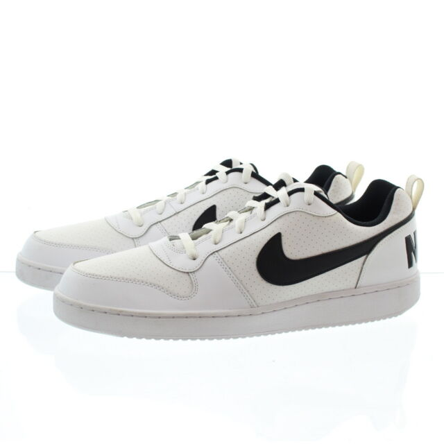 united kingdom free delivery new release Nike 838937 Mens Court Borough Low Top Leather Running Shoes SNEAKERS White