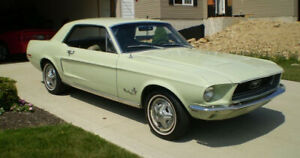 1968 Ford Mustang 289 Engine