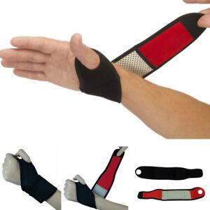 Therapie-Turmalin-Handgelenk-Beheizbar-Bandage-Handgelenkstuetze-Hand-Bandage