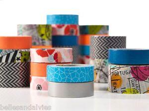 3M-Scotch-Expressions-Washi-Tape-0-59-034-x-393-034-15mm-x-10mm-Colors-Patterns-10-9YD