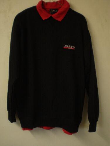 Case IH Tracteur Adult/'s CASE IH Rouge Polo Shirt Noir Sweat-shirt ensemble sweat pull