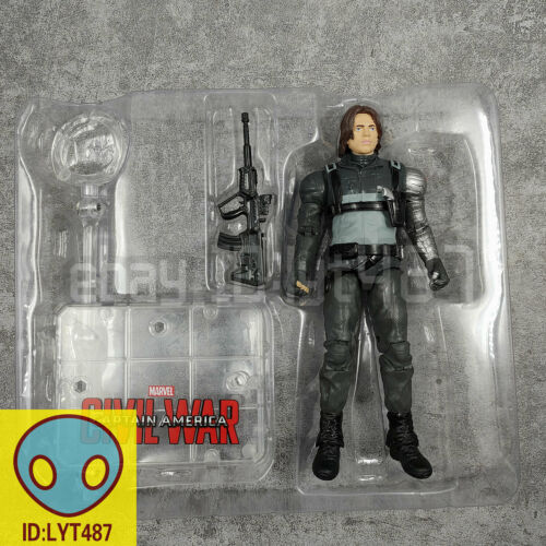 """Details about  /Marvel Winter Soldier Avengers Legends Comic Heroes 7/"""" Action Figure Kids Toy"""