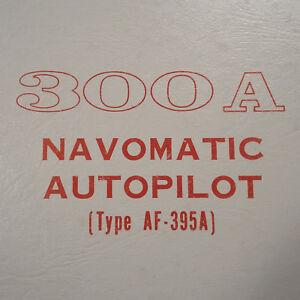 cessna arc navomatic 300a service manual af 395a ebay rh ebay com Cessna 400B Navomatic Auto Pilot Cessna 800B Navomatic Auto Pilot