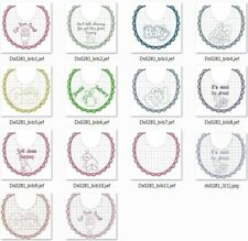 FILE RICAMI ALFABETO ROSE assortitI PES Embroidery Designs files