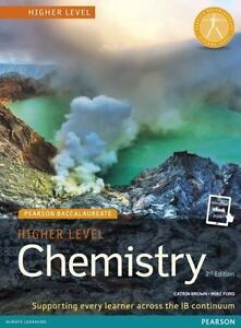 Pearson baccalaureate chemistry higher level 2nd edition print and pearson baccalaureate chemistry higher level 2nd edition print and online edition for the ib diploma by mike ford and catrin brown 2018 paperback fandeluxe Images