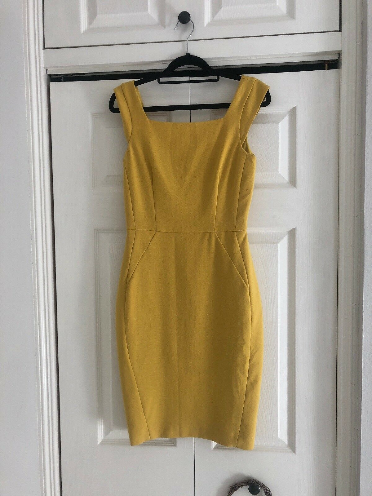 French Connection Robe, Taille 6, Jaune Lin Robe