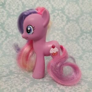 My Little Pony Cupcake 3 Brushable Friendship Is Magic G4 Euc 2010 Ebay