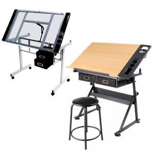 Zeichentisch-Architekturtisch-Schreibtisch-Zeichenplatte-Zeichenbrett-Zeichner
