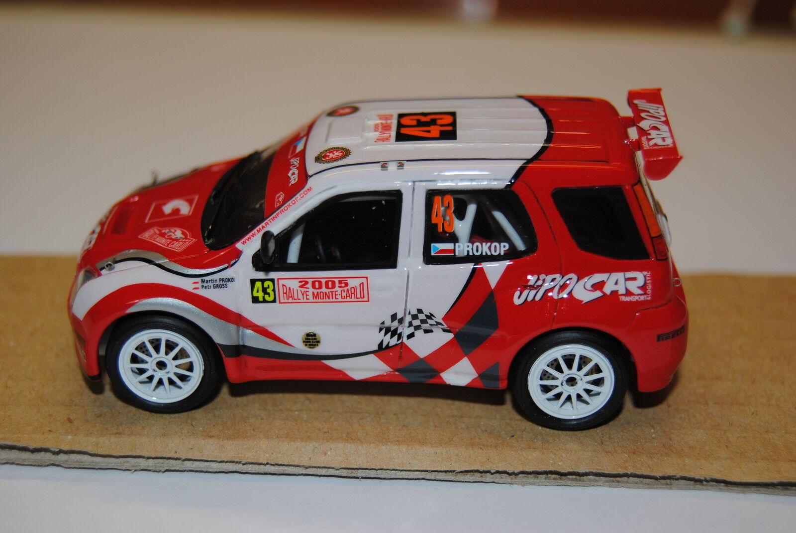SUZUKI IGNIS - Montecarlo 2005 - Provence Miniature 1/43  no Racing43