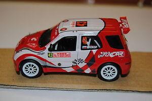 Suzuki Ignis - Montecarlo 2005 Miniatures Provence 1/43 (pas Racing43)