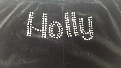 Buono Le Ragazze In Velluto Corto Danza Ginnastica Holly 9 A 11 Con Lustrini Velluto Personalizzato-mostra Il Titolo Originale Delizie Amate Da Tutti