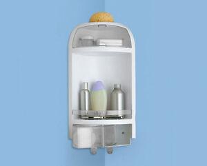 Portasapone porta oggetti spugne vasca box doccia angolare avant