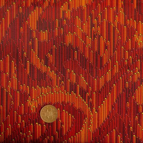 Robert Kaufman Colour Quake ER4966//4 Orange /& Red 100/% Cotton Fat Quarter