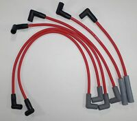 Chevy Inline 6 / Straight 6 194-230-250-292 Hei Red 8mm Hi-perf Spark Plug Wires