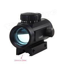 Rosso puntatore laser verde OPTICAL tattico Holo CACCIA Dot Sight Airsoft